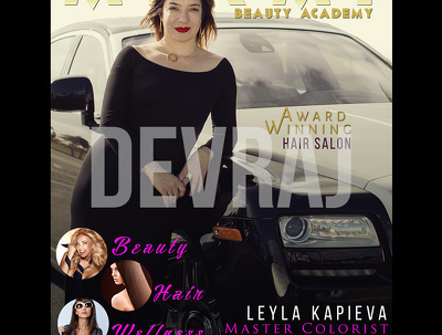 Design Attractive Magazine Cover