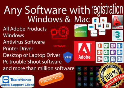 Give Software With License Or Registration Windows Or Mac