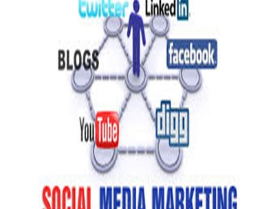 Social media and blog advert