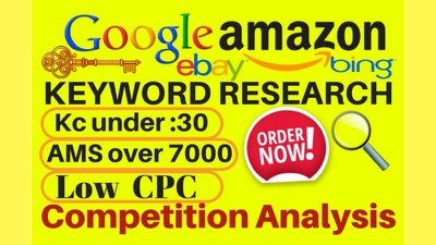 Keyword Research for google and amazon