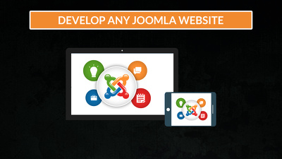 Develop any joomla website