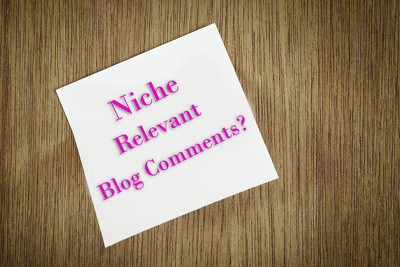 Do manually 100 niche related blog comments backlinks