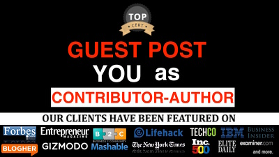 Guest post YOU as Contributor - Author byline posts