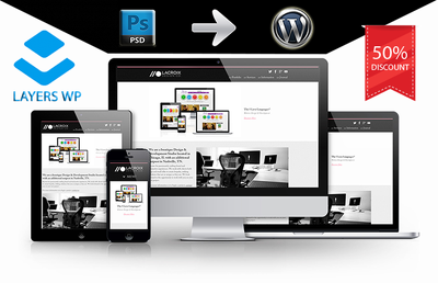 Convert any psd to WordPress - Responsive by LayerWP