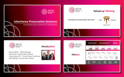 create professional and modern PowerPoint presentation