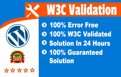 Fix W3c Validation Errors
