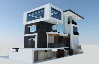 Create stylish interior and exterior 3D design