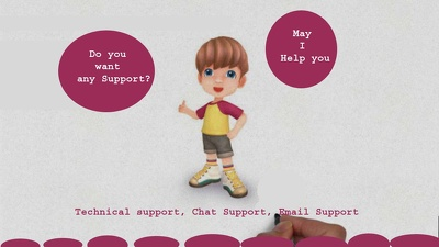 Technical Support and Chat Support Available Here, 24*7 hour