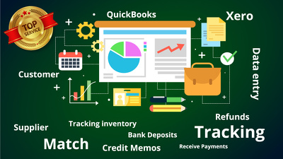 Process and maintain your Accounts Payable and  Receivable.