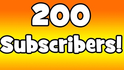 Give you 200+ Subscribers And grow your channel fast