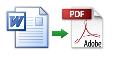Type and convert 15 pages of MS Word to PDF