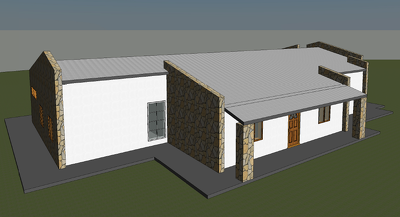 Create 3d revit model of your autocad/hand drawn building design