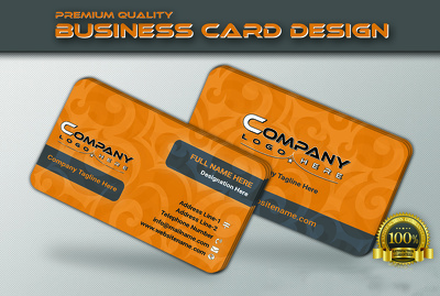 Design highly professional Business and Identity cards