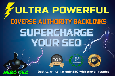 Explode Google Rankings with Safe & Diverse Authority Backlinks