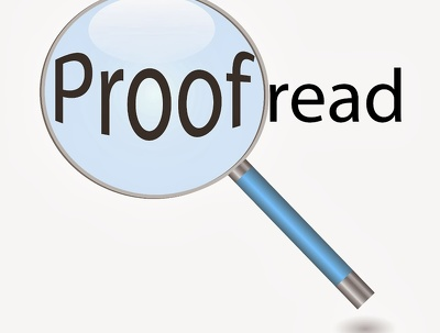 Proofread you writing up to 1000 word