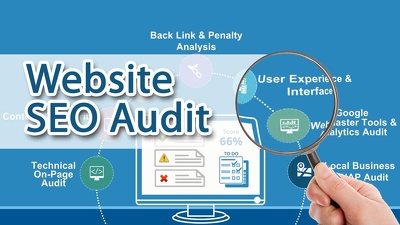 Do a Complete website SEO Audit, Recommendations, Keyword Search