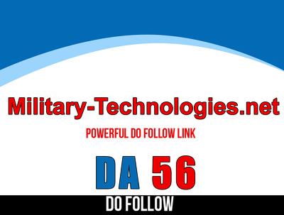Post on military-technologies – military-technologies.net – DA56