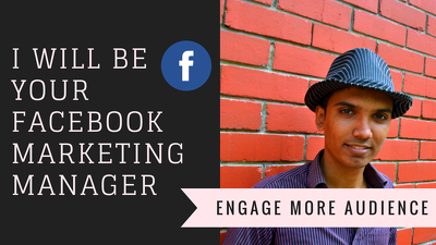 Make promotion to your facebook to engage more people