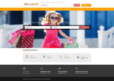 Design & Develop E-commerce Website & Mobile App