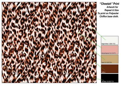 Design a fashion print pattern