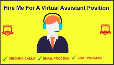 Be your virtual assistant for a long period for customer service