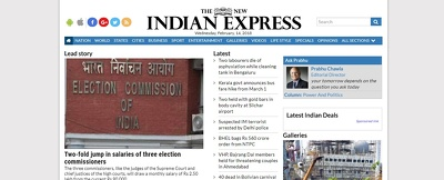 Publish article on India's Top News Site - newindianexpress.com