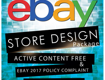Design responsive Ebay Shop Design & Listing Template Design