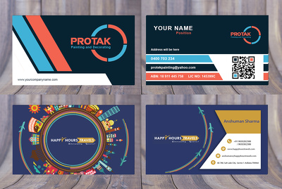Design Professional Business Card+ Print ready file+ Source file