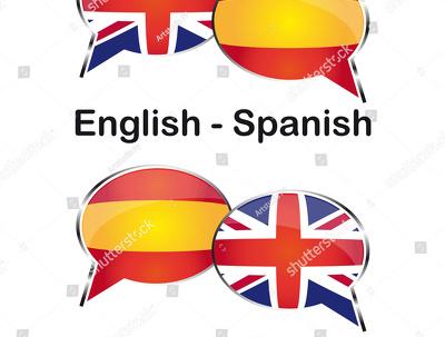 Translate or transcript ENGLISH-SPANISH