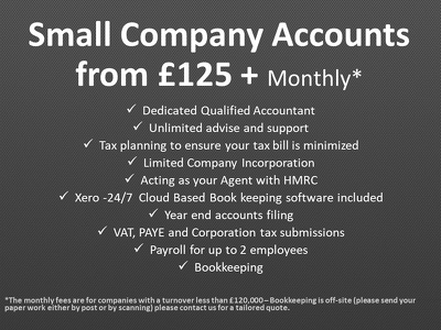 Provide a full accounting package