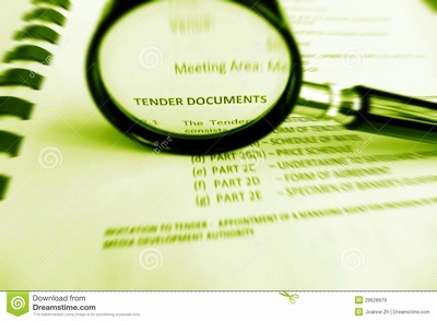 Write bid documents for a small building or FM contract