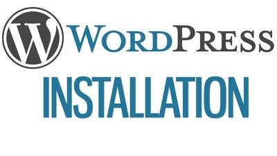 Install wordpress or wordpress install
