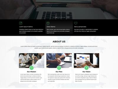 Create Landing / Single Page Multi Section Modern Design Website