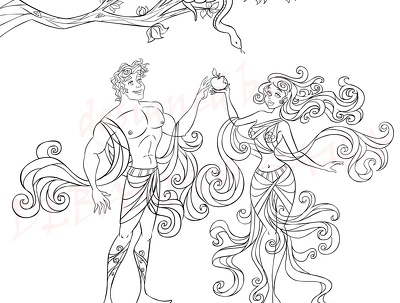 Deliver b/w coloring page within 2 hour with $10 per image