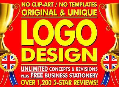 Unlimited Logo Designs + Stationery + Favicon + Fonts + Source