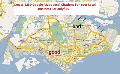 Create 1250 Google Maps Local Citations For Your Local Business