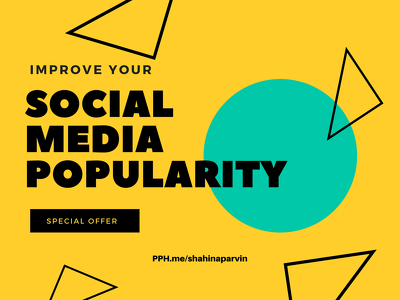 Boost Your Social Media Fanbase, Improve popularity & Traffic