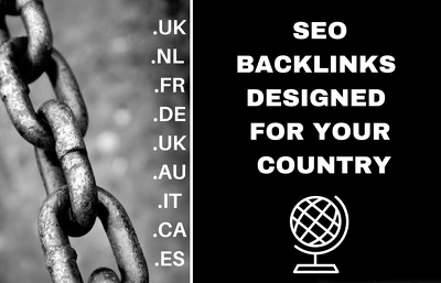 Create 100+ SEO Backlinks On UK , Dutch , French or German Blogs