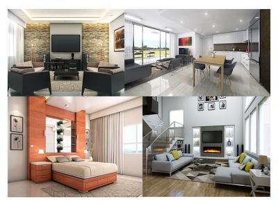 Do amazing 3d rendering for interior and exterior