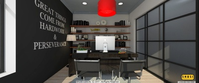 Provide 3D Interior Design Services (SKETCHUP + VRAY + PICASA)