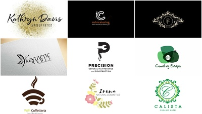 Professional Logo Design - Free Favicon - All Source Files