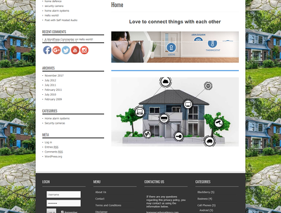 Desgin 5 page Wordpress wbesite