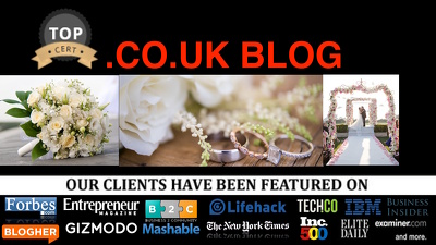 Guest Post On Wedding .co.uk UK blog 8 Years Niche Blog