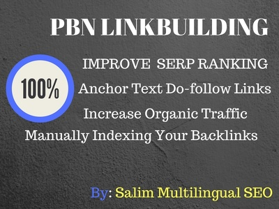 Build 40 PBN Linkbuilding Services