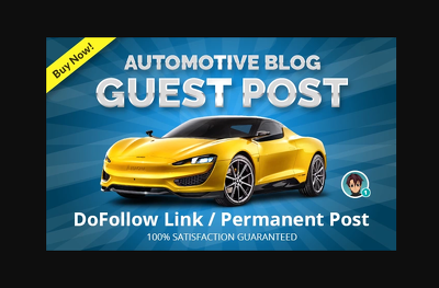 I will do guest post in my automotive blog