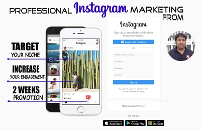 Develop your personal or business instagram profile
