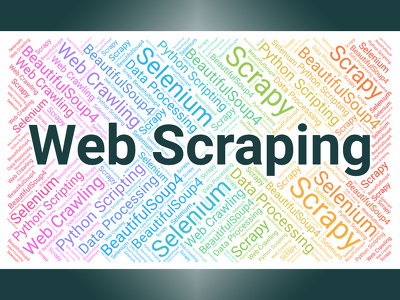 Do Web scraping, Data mining using Python Scripting