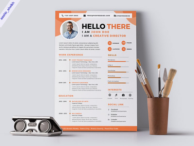 DESIGN YOUR RESUME CV IN THE LATEST ATTRACTIVE DESIGN