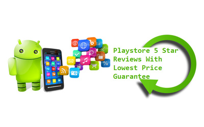 Post 20 reviews or 5 Star ratings to any free android app