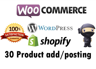 Add 40 product on woocommerce or wordpress or any site